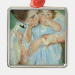 Mary Cassatt Mother and Child Mother's Day Card Christmas Ornaments
