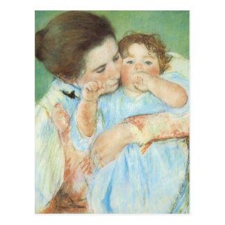 Mary Cassatt - Mother and Child Post Card