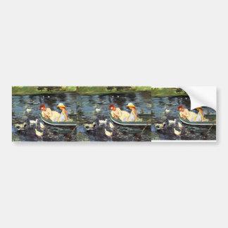 Mary Cassatt- Summertime Bumper Sticker