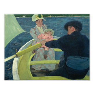 Mary Cassatt - The Boating Party Photo Print