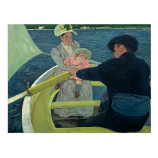Mary Cassatt - The Boating Party Postcard