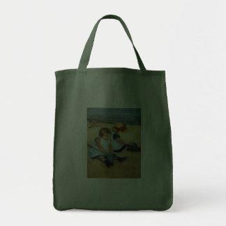 Mary Cassatt's Children on the Beach  (1884) Bag