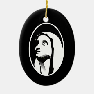 Mary Ceramic Ornament
