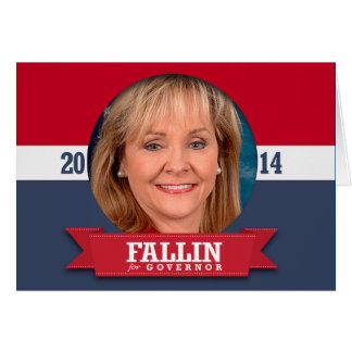 MARY FALLIN CAMPAIGN GREETING CARD