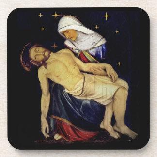 Mary Holding Jesus Coaster