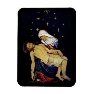 Mary Holding Jesus Magnet