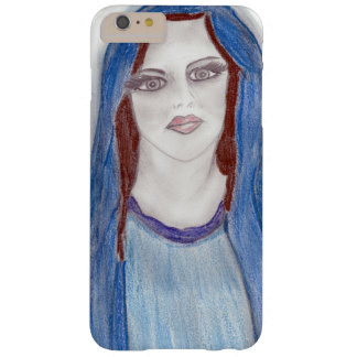 Mary In Blue Barely There iPhone 6 Plus Case