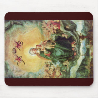 Mary In Glory By Altdorfer, Albrecht Mousepad