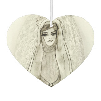 Mary in the Grotto Car Air Freshener