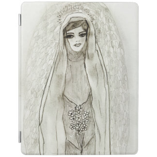 Mary in the Grotto iPad Cover