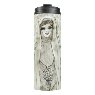 Mary in the Grotto Thermal Tumbler