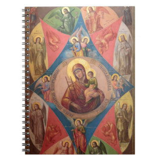 Mary, Jesus, And Angels Notebooks