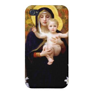 Mary Jesus iPhone 4/4S Case