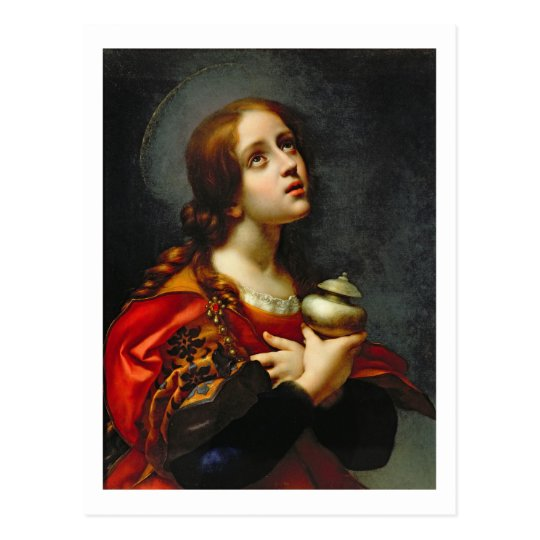 Mary Magdalene, 1660-70 (oil on canvas) Postcard