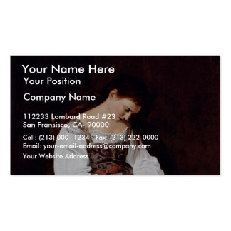 Mary Magdalene By Michelangelo Merisi Da Caravaggi Pack Of Standard Business Cards