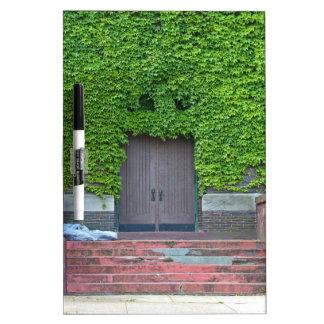 Mary Manse Doors- horizontal Dry Erase Board