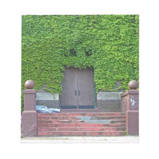 Mary Manse Doors- horizontal Notepads