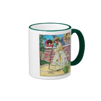 Mary, Mary, quite contrary Ringer Coffee Mug