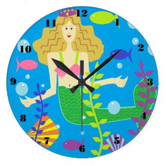 Mary Mermaid Clock