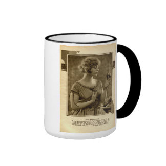 Mary Miles Minter 1921 vintage portrait mug