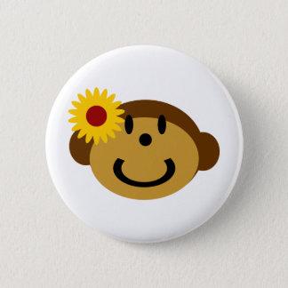 Mary Monkey 6 Cm Round Badge