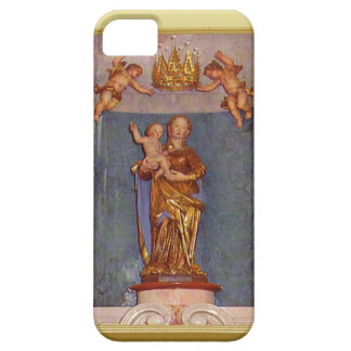 Mary mother of Jesus statue iPhone 5 Case