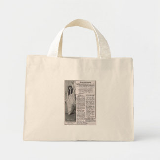 Mary Pickford 1916 Mini Tote Bag