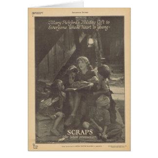 Mary Pickford Sparrows movie ad Card