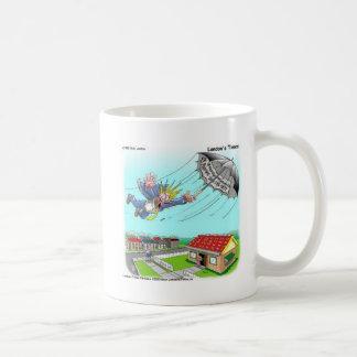Mary Poppins Umbrella Funny Gifts Tees Etc Basic White Mug