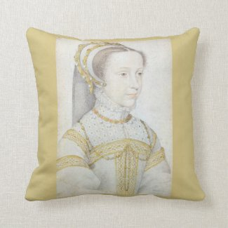 Mary Queen of Scots Throw Cushion