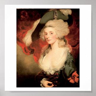 Mary Robinson as Perdita by John Hoppner 1758 1810 Poster