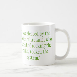 Mary Robinson, Irish President Coffee Mug