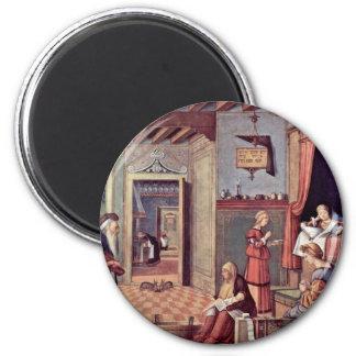 Mary S Birth By Carpaccio Vittore Magnets