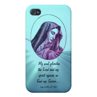 Mary Scripture case iPhone 4/4S Covers