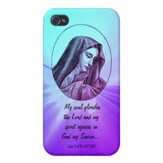 Mary Scripture case iPhone 4 Case