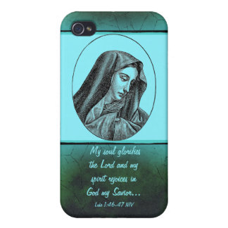 Mary Scripture case iPhone 4 Cases