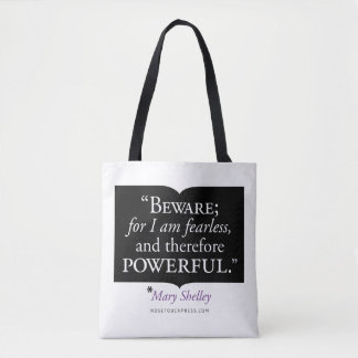 Mary Shelley Tote Bag