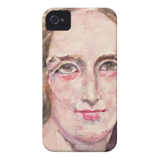 mary shelley - watercolor portrait iPhone 4 cover