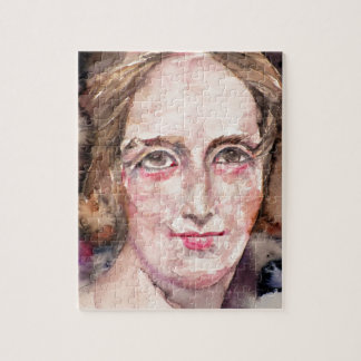 mary shelley - watercolor portrait jigsaw puzzle