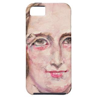 mary shelley - watercolor portrait tough iPhone 5 case