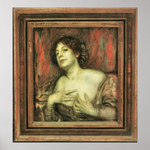Mary Stuck by Franz von Stuck Print