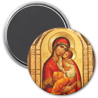 Mary The God-Bearer Magnet
