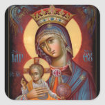 Mary - THEOTOKOS Square Sticker