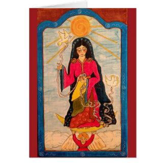 Mary Undoer of Knots Card