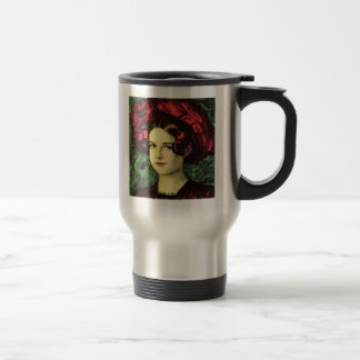 Mary With A Red Hat By Stuck Franz Von Mugs