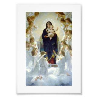 Mary with Angels - Regina Angelorum Photo Art
