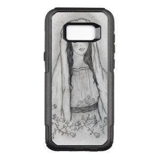 Mary with Roses OtterBox Commuter Samsung Galaxy S8+ Case