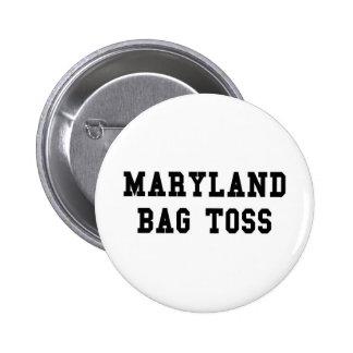 Maryland Bag Toss Pinback Buttons