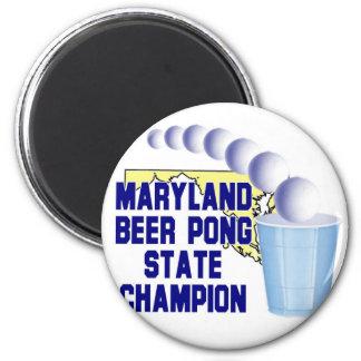 Maryland Beer Pong Champion Fridge Magnets
