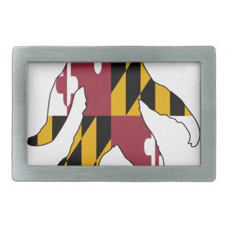 Maryland Bigfoot Rectangular Belt Buckles